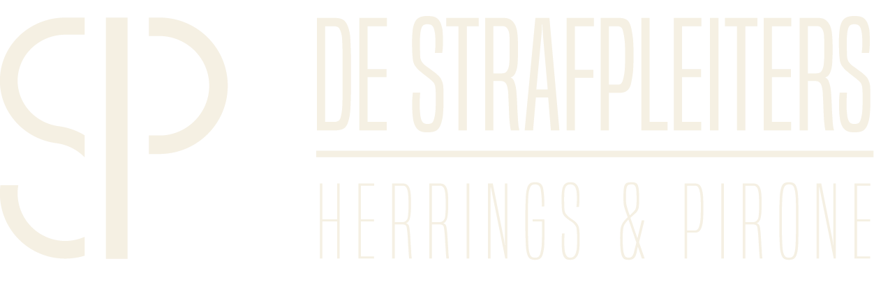 Logo strafpleiters definitief